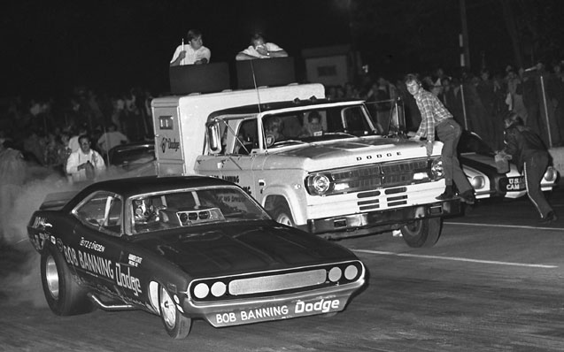 banning dodge funny car
